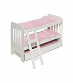Badger Basket Doll Furniture <br />Trundle Doll Bunk Beds with Ladder