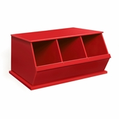 Badger Basket <Br />Three Bin Storage Cubby