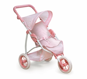 Badger Basket <Br />Three Wheel Doll Jogging Stroller