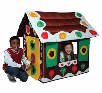 Bazoongi <br />Gingerbread House Play Structure