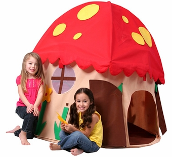 Bazoongi Kids <br />Mushroom House Play Structure