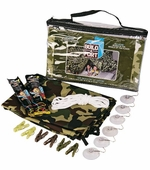 Be Amazing Toys <br />Build a Green Camouflage Fort Kit