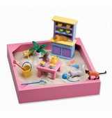 My Little Sandbox Kitty Tea Party Playset