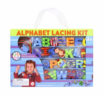Bead Bazaar <br />Alphabet Lacing Kit