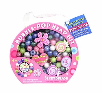 Bead Bazaar <br />Bubble Pop Kit Berry Splash