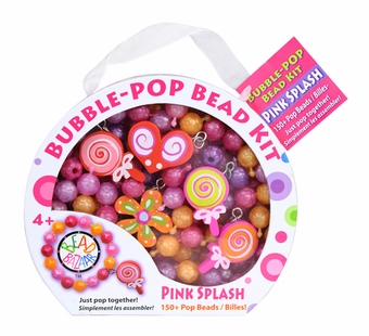 Bead Bazaar <br />Bubble Pop Kit Pink Splash