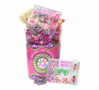 Bead Bazaar <br />Medium Bead Barrel Bead Kit