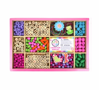 Bead Bazaar <br />My Big Alphabet Bead Box Kit