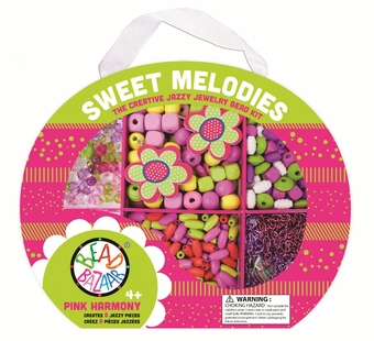 Bead Bazaar <br />Sweet Melody Pink Bead Kit