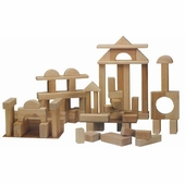 Beka <br />Hardwood Deluxe Unit Blocks 68 Pieces