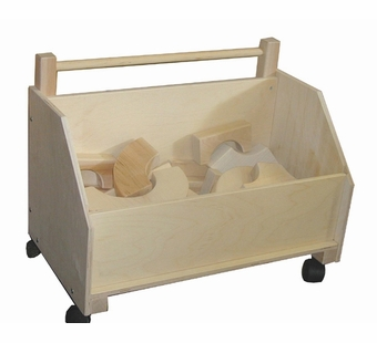 Beka <br />Wooden Toy Chest on Wheels