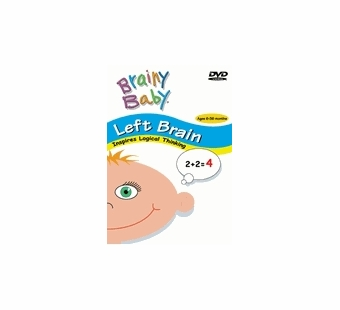 Brainy Baby <br />Left Brain DVD