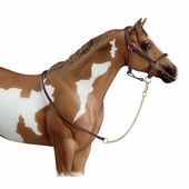 Breyer <br />Leather Halter with Lead Chain #2456