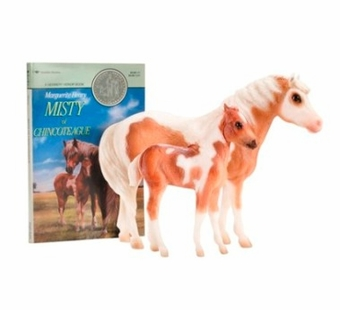 Breyer <br />Misty Stormy Horse Set & Book #1157