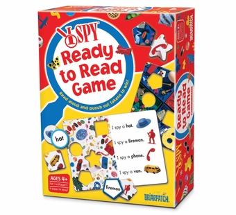 Briarpatch Games <br />I Spy Ready to Read Game