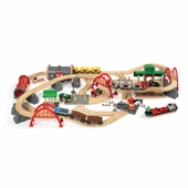 BRIO <br />Deluxe Railway Train Set with Carry Box