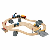BRIO <br />Rail and Road Quarry Loading Set