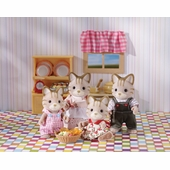 Calico Critters <br />Caramel Cat Family