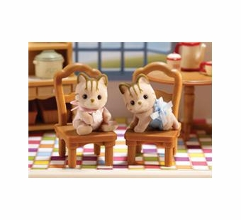 Calico Critters <br />Caramel Cat Twins