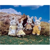 Calico Critters <br />Cottontail Rabbit Family