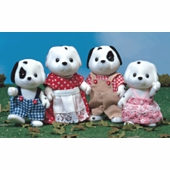 Calico Critters <br />Dalmatian Dog Family
