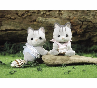 Calico Critters <br />Fisher Cat Twins