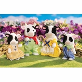 Calico Critters <br />Friesian Cow Family
