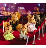 Calico Critters <br />Furbanks Squirrel Family
