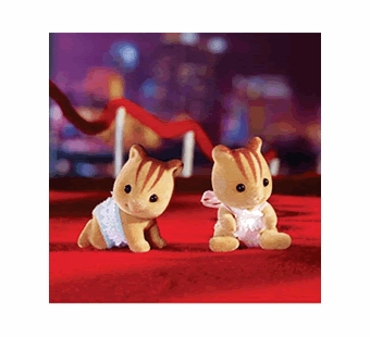 Calico Critters <br />Furbanks Squirrel Twins