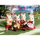 Calico Critters <br />Hopscotch Rabbit Family