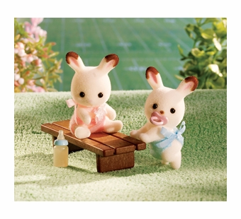 Calico Critters <br />Hopscotch Rabbit Twins