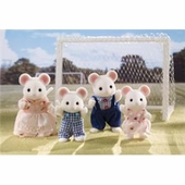 Calico Critters <br />Milky Mouse Family