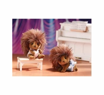Calico Critters <br />Pickleweeds Hedgehog Twins