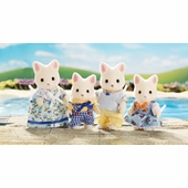 Calico Critters <br />Silk Cat Family