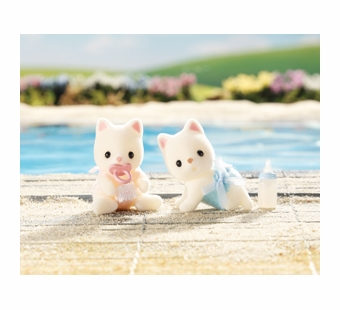 Calico Critters <br />Silk Cat Twins