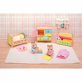 Calico Critters <br />Tabby Twins Sleep 'n Play Set