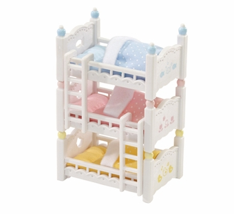 Calico Critters <br />Triple Baby Bunk Beds