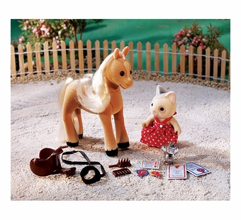Calico Critters <br />Willow at the Horse Show