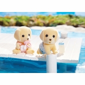 Calico Critters <br />Yellow Labrador Twins
