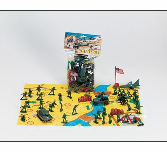 Castle Toy <br />Army Battle Set 18 piece Set
