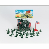 Castle Toy <br />Army Plastic Soldiers 50 piece Set