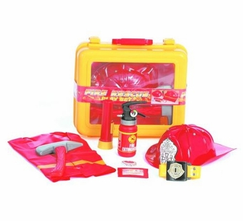 Castle Toy <br />Fire Rescue Deluxe Play Set
