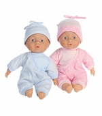"Castle Toy<br />Lissi Twin Baby 12"" Dolls"