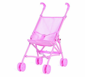 Castle Toy <br />Pink Umbrella Doll Stroller