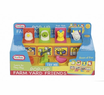Castle Toy <br />Pop Up Farm Yard Friends