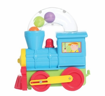Castle Toy <br />Push Along Locomotive Toy