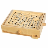Castle Toy <br />Wood Labyrinth Game