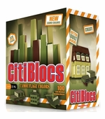 Citiblocs <br />100 Piece Camo Colors Building Set