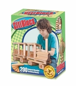 Citiblocs <br />200 piece Natural Color Building Block Set