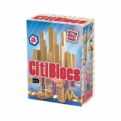 Citiblocs <br />300 Piece Natural Wooden Building Set